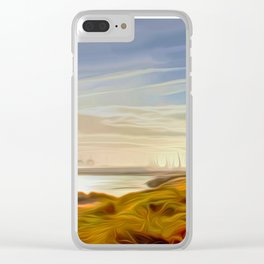 Across the Lake Clear iPhone Case