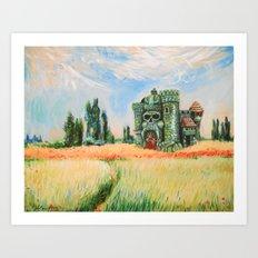 Eternia Field Art Print