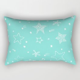 Star Doodles Rectangular Pillow