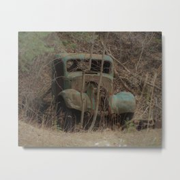 Runs good, needs work... Metal Print