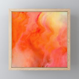 Dancing Fire Framed Mini Art Print