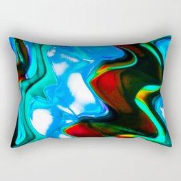 Contrasting Colors Rectangular Pillow