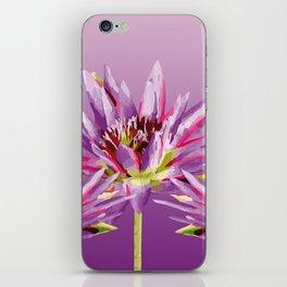 Lotos Flowers violet II iPhone Skin