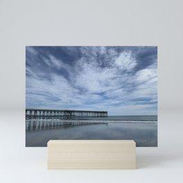San Simeon Pier No. 1 Mini Art Print