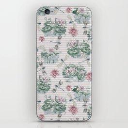 Water Lily Lake iPhone Skin