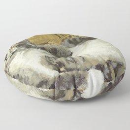 Risque Tabby Floor Pillow