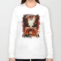 predator Long Sleeve T-shirts featuring Predator by Sirenphotos