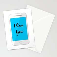 I Own You Stationery Cards