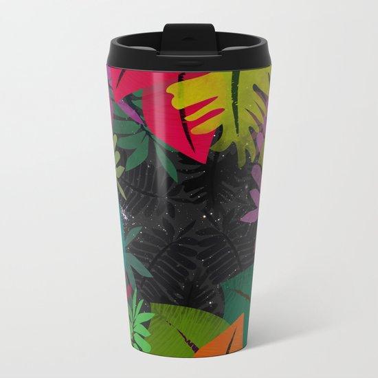 Cosmic Jungle Metal Travel Mug