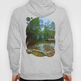 Romantic moments at the lake   waterscape photography Hoody