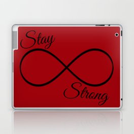 Stay Strong Laptop & iPad Skin