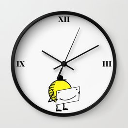 Confuse a frown - Smile VS6 Wall Clock