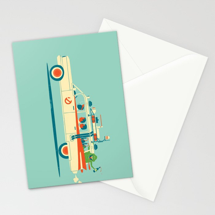 Party in the Back Stationery Cards