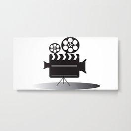 Video Camera Metal Print