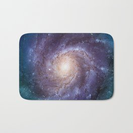 Pinwheel Galaxy Bath Mat