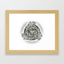 Storm of Swords Framed Art Print