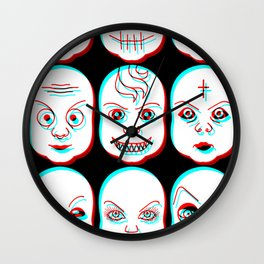 Pediophobia Wall Clock