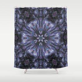 warp_drive Shower Curtain