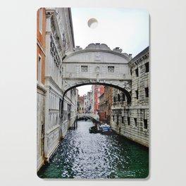 Venice Canal Cutting Board