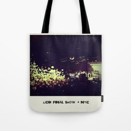 LCD Soundsystem Final Show Tote Bag