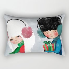 Winter Crush Rectangular Pillow