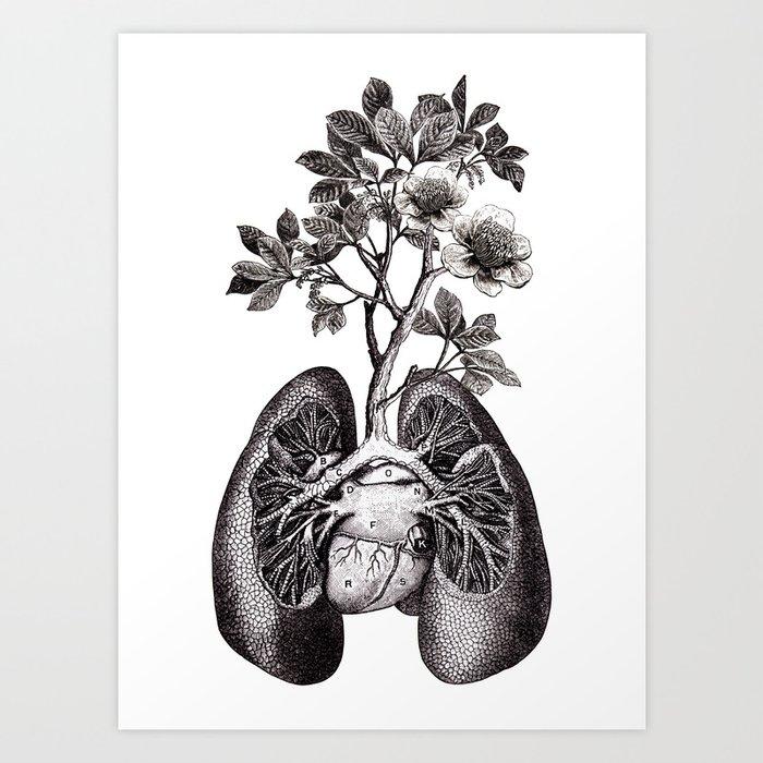 Flourishing Lungs Kunstdrucke