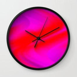 DREAM PATH (Purples, Fuchsias & Reds) Wall Clock