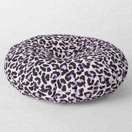 Pastel leopard fur II Floor Pillow