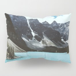Lake Moraine landscape Pillow Sham
