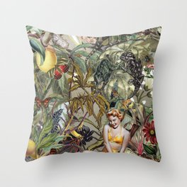 BOMBUS TERRESTRIS Throw Pillow