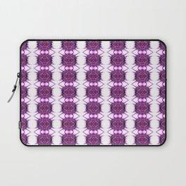 Purple Spiked Repeat Pattern Laptop Sleeve
