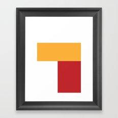 ComicCase_2 Framed Art Print