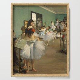 """Edgar Degas """"The dance class"""" Serving Tray"""