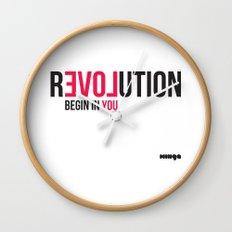 Revolution Wall Clock