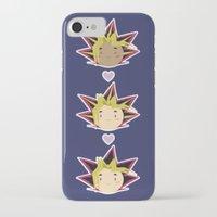 yaoi iPhone & iPod Cases featuring Atem x Yami Yugi x Yugi by Violet's Corner