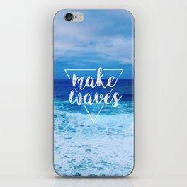 Make Waves iPhone Skin
