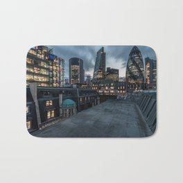 London on the roofs Bath Mat