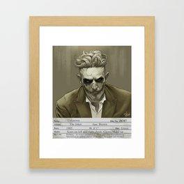 1930s Joker Mugshot Framed Art Print