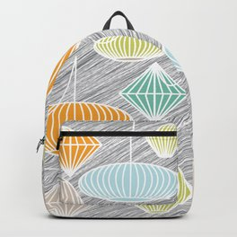 Mid Century Modern Lampshades Backpack