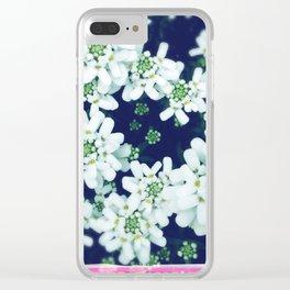 FlowerPower #8 Clear iPhone Case