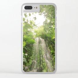 Verde es vida Clear iPhone Case