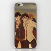 marauders iPhone & iPod Skins featuring marauders moon by Kirsten Stackhouse