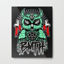 BMTH Owl Metal Print