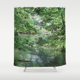Hidden Creek Shower Curtain
