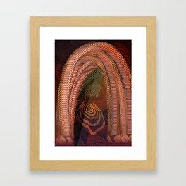 RetroFuture / Evolution-06 Framed Art Print