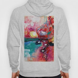 Abstract Soul Dance 1 by Kathy Morton Stanion Hoody
