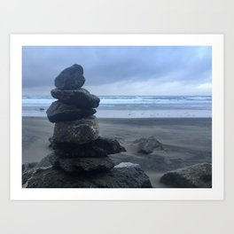 Serenity At Muir Beach Art Print