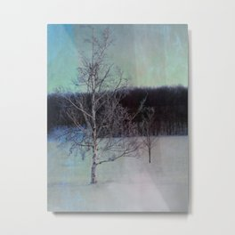 You and I little tree Metal Print