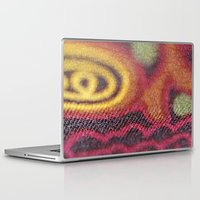 stained glass Laptop & iPad Skins featuring Stained Glass by Stephen Linhart