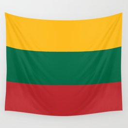 Flag: Lithuania Wall Tapestry